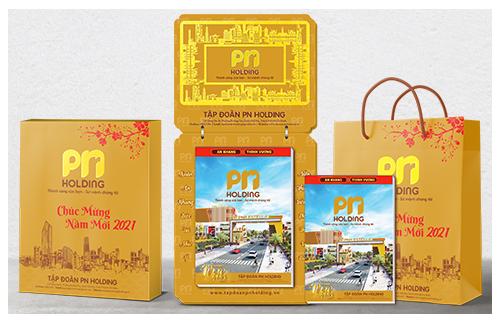 Bộ lịch Tết của PN Holding