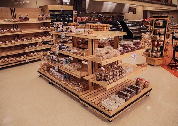 Là các ụ trưng bày sản phẩm được dựng giữa siêu thị để làm nổi bật sản phẩm hơn.